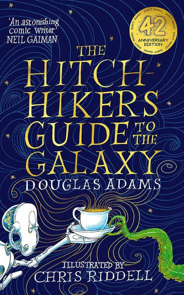 The Illustrated Hitchhiker's Guide To The Galaxy book: Chris Riddell & Neil Gaiman interviewed (video).