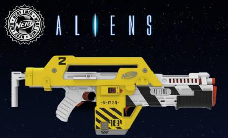 Aliens Pulse Rifle - the Nerf version (gadget news).