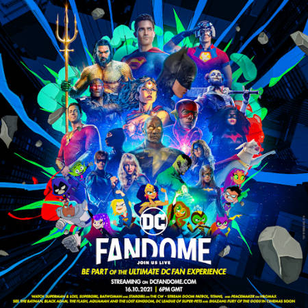 DC Comics' online fan event, FanDome returns for 2021 (news).