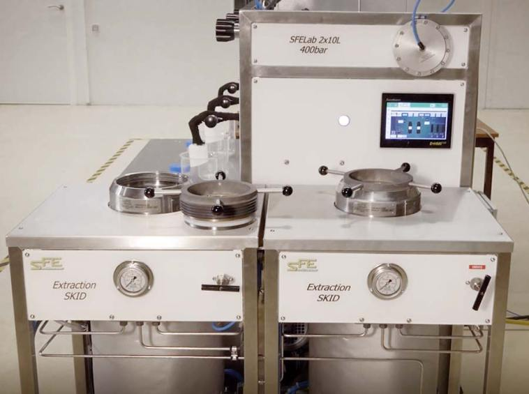 Supercritical Extraction System cannabis hemp extractor - sfe process