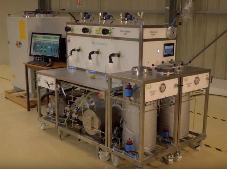 video sfe equipment cannabis extraction SFE Prod