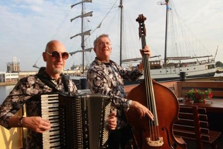 """Sail Amsterdam 2015 op de """"Veerman van Kampen"""" voor Stork"""