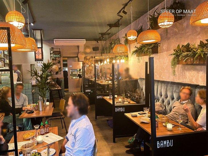 coronascherm restaurant bambu