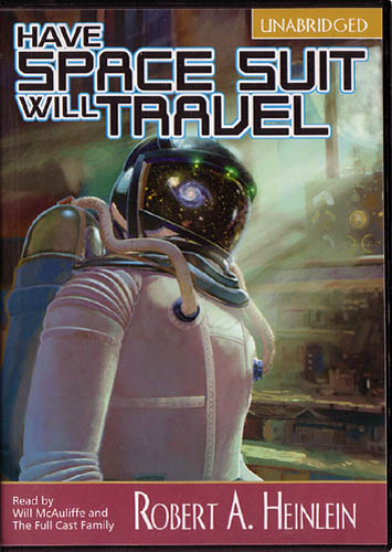 Image result for Have Space Suit will travel audiobook