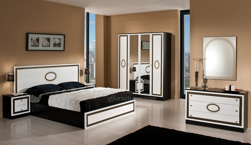 paris italian bedroom set