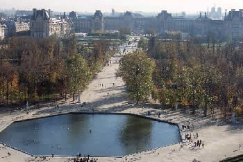 Jardins des Tuileries: the future of Civic Center Plaza.
