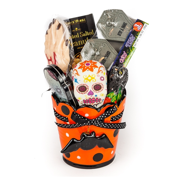 Halloween Goodies Gift Basket Gift Baskets Halloween Mug