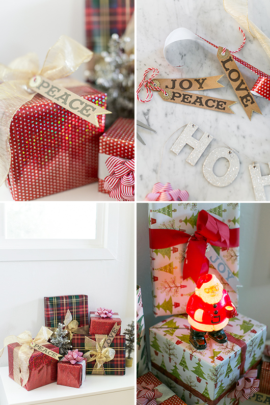 pier 1 imports holiday ribbons and wrapping paper / sfgirlbybay