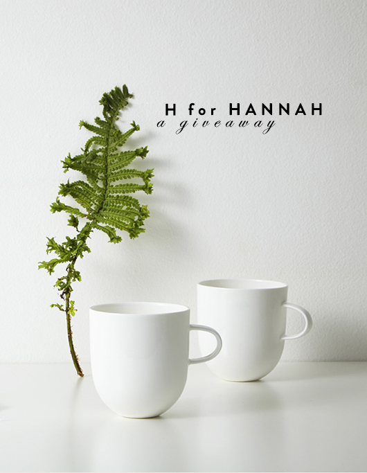 h for hannah bone china giveaway /sfgirlbybay