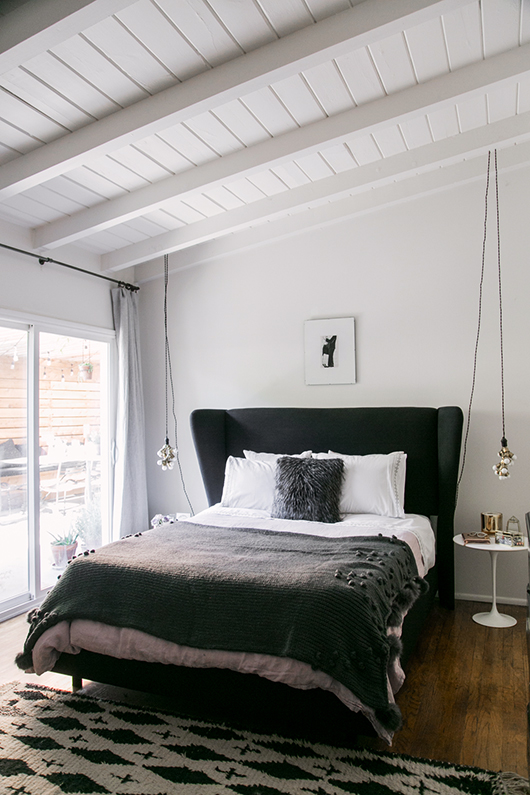2016 bedroom makeover with anthropologie bedding / sfgirlbybay
