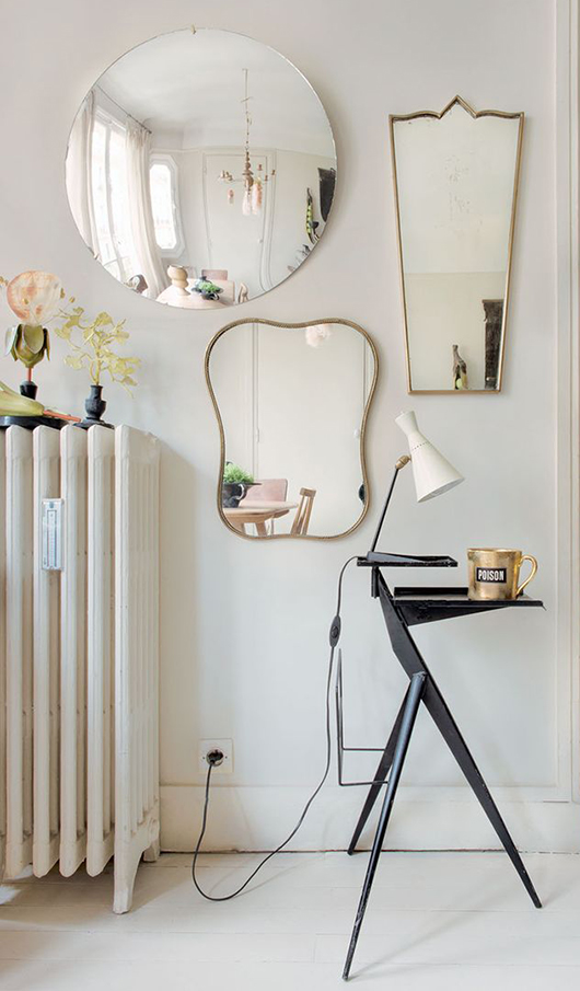collection of vintage mirrors / sfgirlbybay