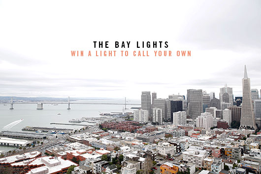 the bay lights art installation / sfgirlbybay