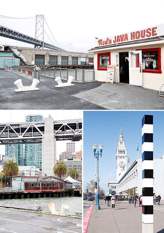 Red's Java House in san francisco / sfgirlbybay