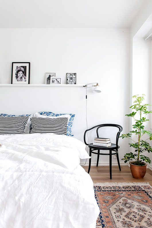 laura seppanen styled helsinki apartment bedroom / sfgirlbybay