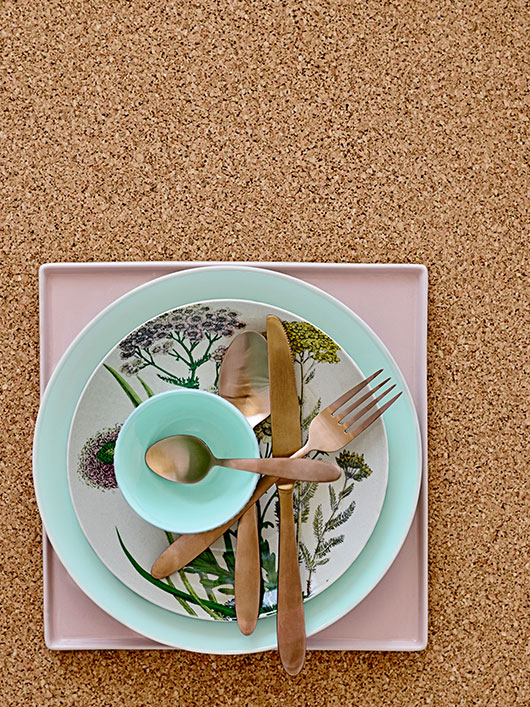 dishware from bloomingville / sfgirlbybay