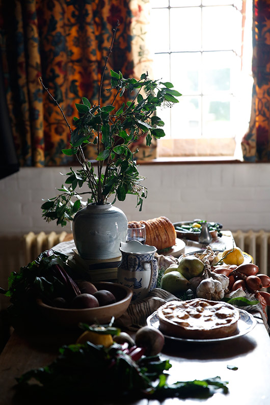 slow living and food styling retreat at goddards. / sfgirlbybay