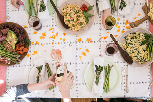 mangia monday dinner party / sfgirlbybay