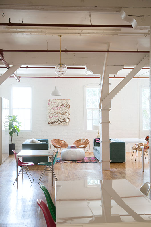 creative studio loft space downtown los angeles / sfgirlbybay