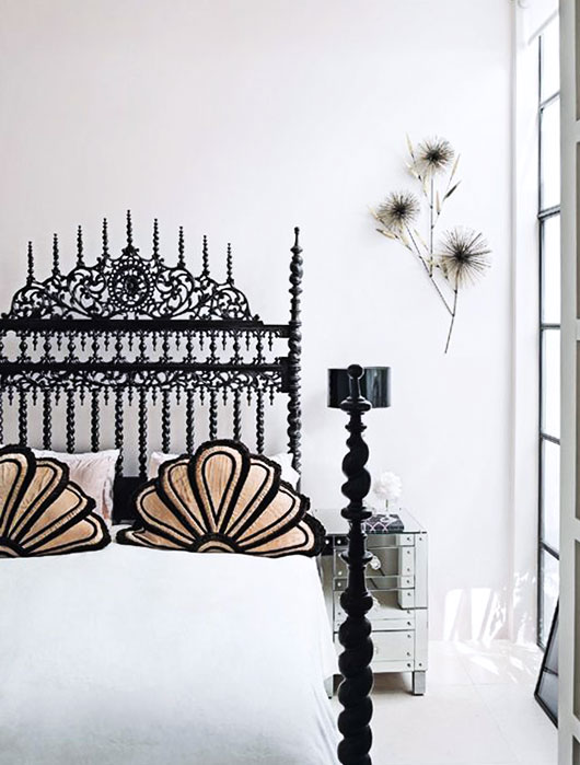 decorating with ornate headboards / sfgirlbybay