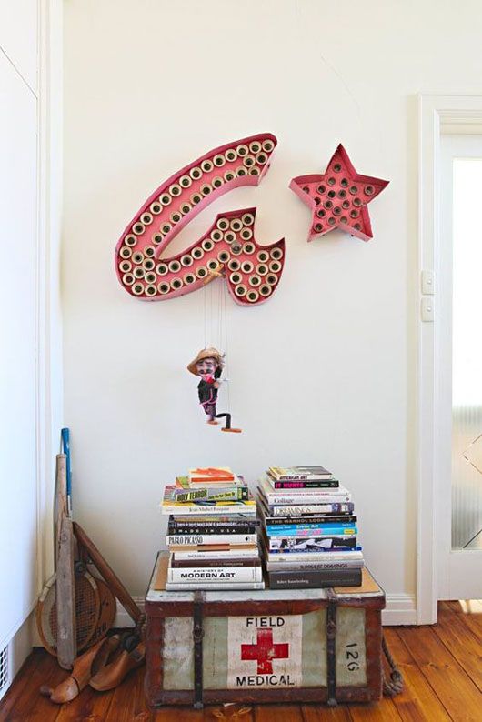 vintage sign decor / sfgirlbybay