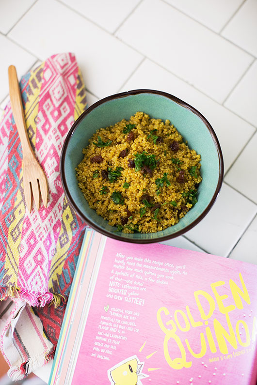 quinoa recipe from ruby roth's cookbook for kids / sfgirlbybay