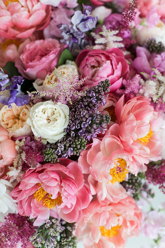 farm fresh flowers from Flower Muse. / sfgirlbybay