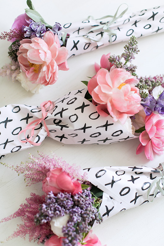 gift wrapped Flower Muse mother's day bouquets / sfgirlbybay