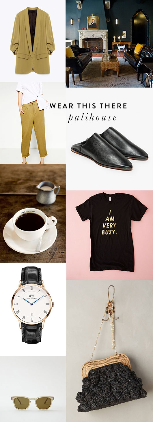 outfit inspiration for palihouse in los angeles / sfgirlbybay