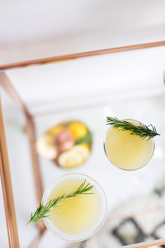cocktail recipe using SKYY vodka Infusions / sfgirlbybay