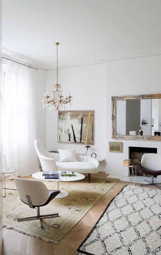 neutral yet eclectic decor / sfgirlbybay