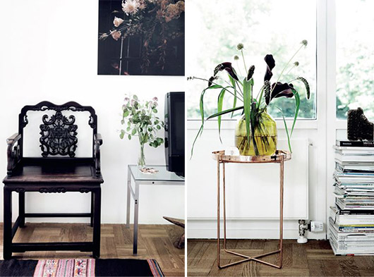 eclectic home decor via Elle Decoration Denmark / sfgirlbybay
