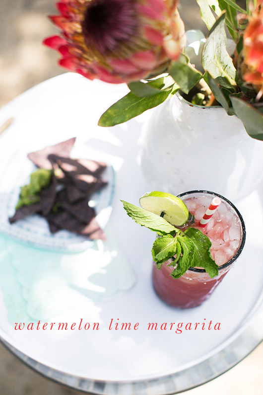 watermelon margarita recipe / sfgirlbybay