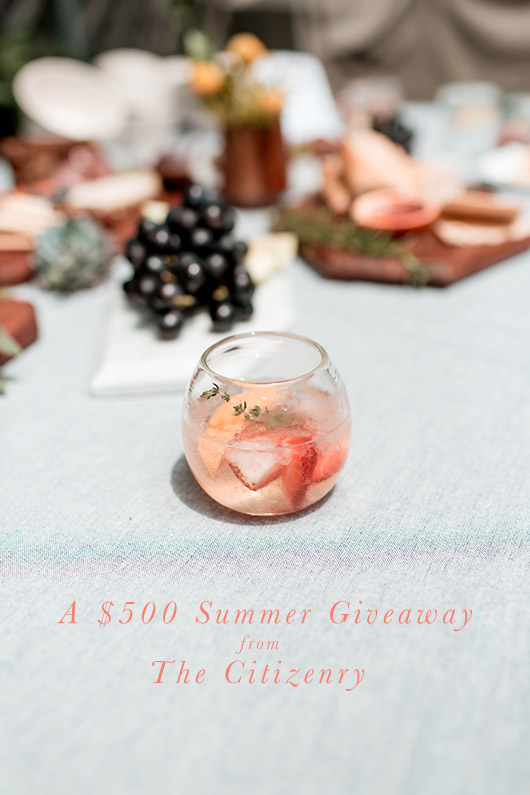 The Citizenry Home Decor Summer Giveaway / sfgirlbybay