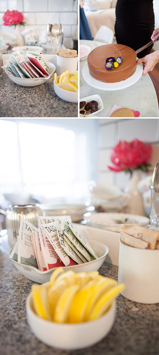 tea and cake brunch party at my home for author terry mcmillan / sfgirlbybay