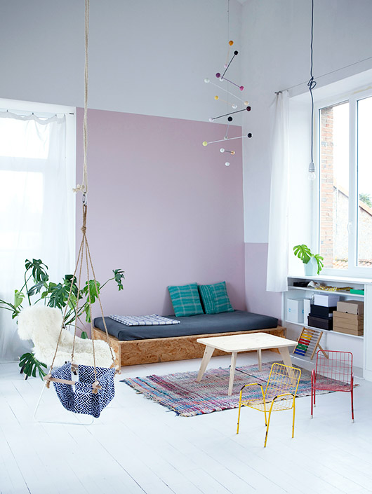 playful home with mid-century modern style photographed by julie ansiau. / sfgirlbybay