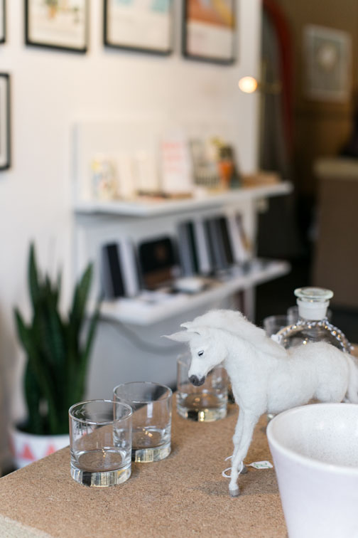 unique home decor and glassware at hemingway & pickett store in los angeles / sfgirlbybay