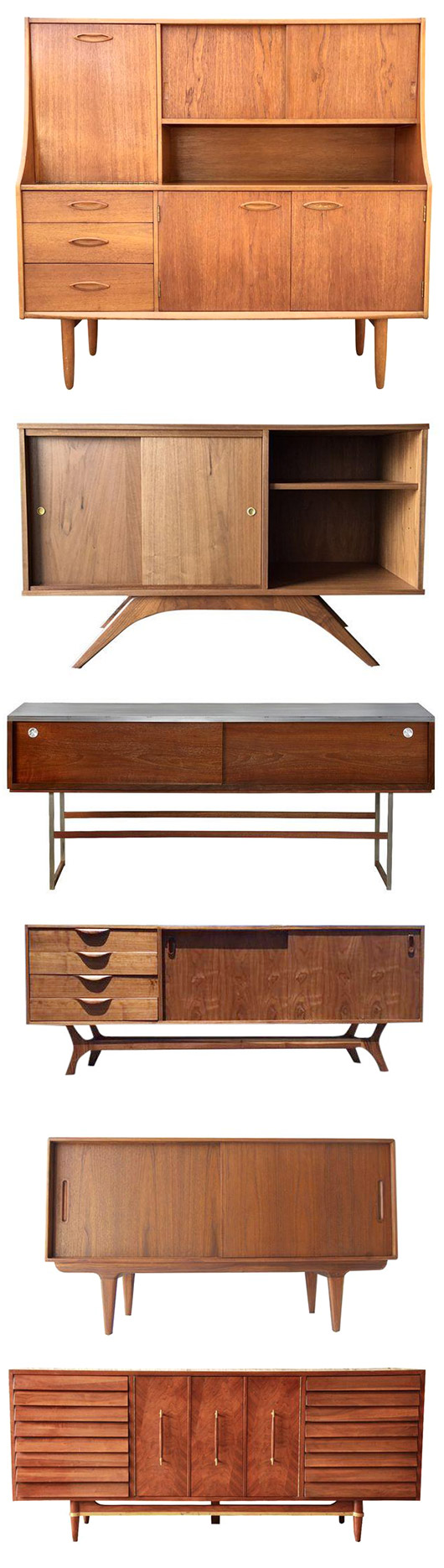 credenzas from chairish / sfgirlbybay