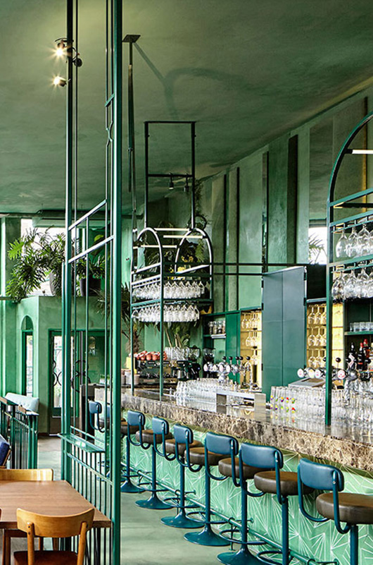 wear this there: le bar botanique of amsterdam. / sfgirlbybay