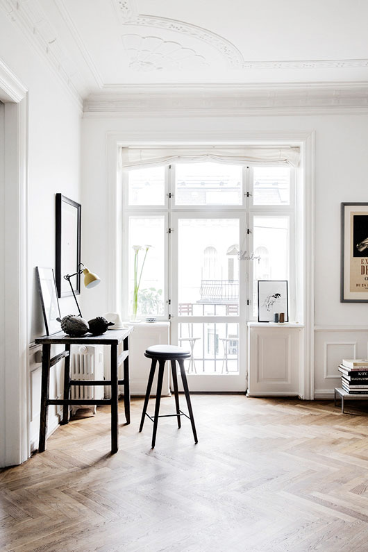 white living room photographed by line klein / sfgirlbybay