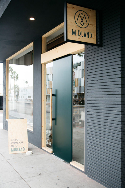 shop exterior of midland in culver city / sfgirlbybay