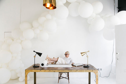 interview with jihan zencirli owner of geronimo balloons in L.A. / sfgirlbybay