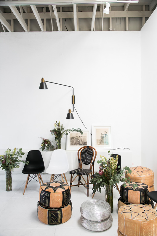 studio decor and furnishings at geronimo balloons in L.A. / sfgirlbybay