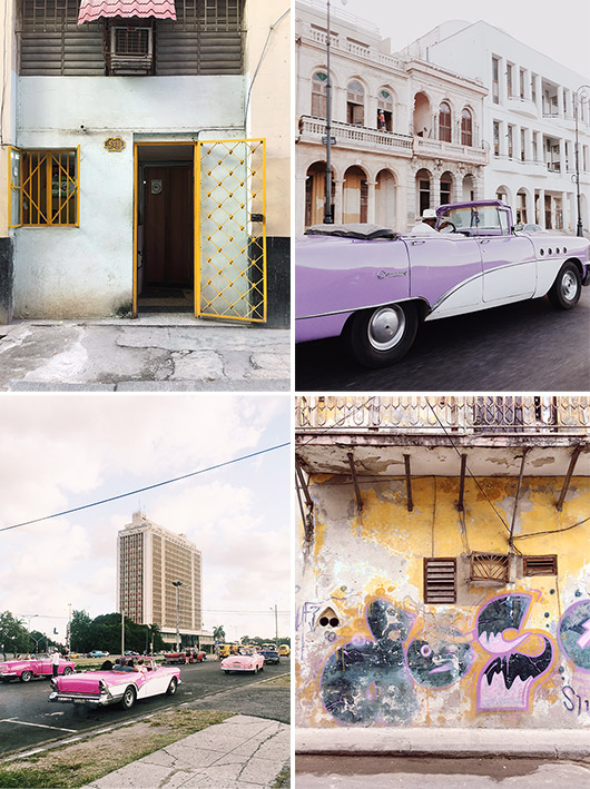 sights from my trip to cuba. / sfgirlbybay