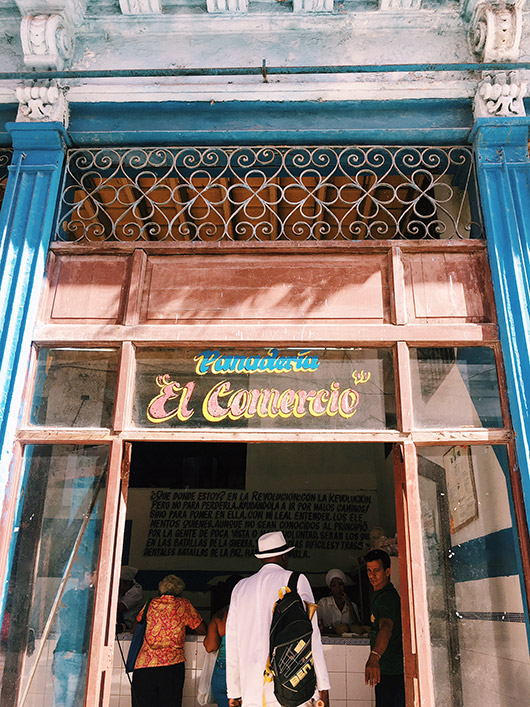 colorful cuban store front. / sfgirlbybay