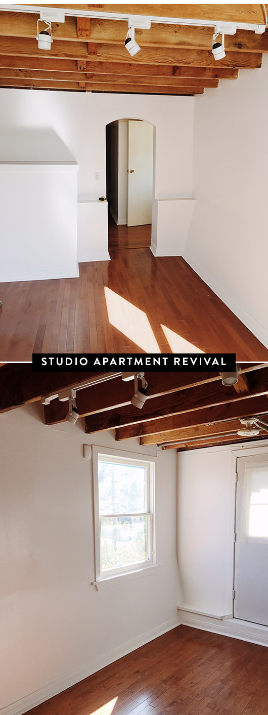 studio apartment space makeover. / sfgirlbybay