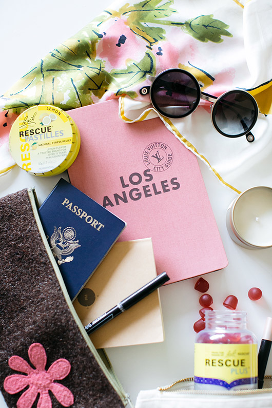 holiday packing essentials: rescue remedy. / sfgirlbybay