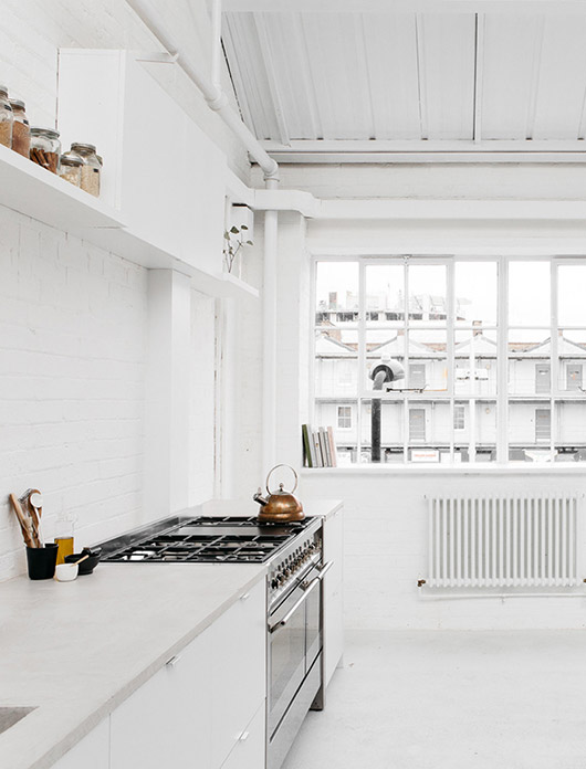 kitchen at rye london. / sfgirlbybay