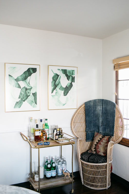 sophie carpenter's bohemian modern home in LA. / sfgirlbybay