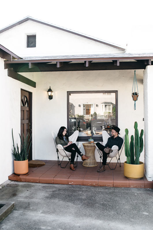 east LA home tour with sophie carpenter and her husband issac. / sfgirlbybay