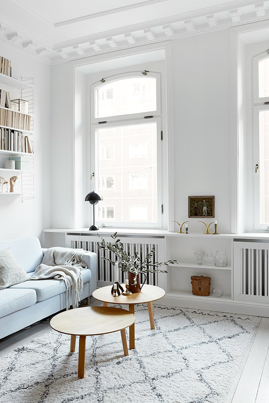 scandinavian style living room decor via fantastic frank. / sfgirlbybay